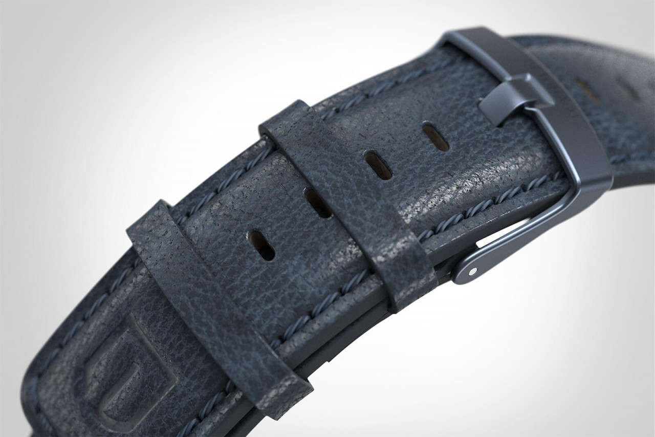 SORPASSO BLUE - LEATHER STRAP BLUE